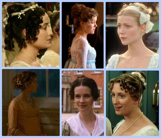 Jane Austen's hairstyles
