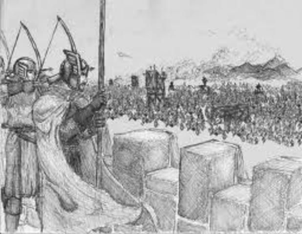 The Seige of Fort Megis