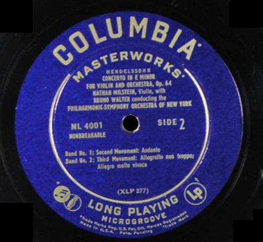 Columbia Records- 12' 33 Vinyl