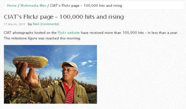 100.000 vistas en Flickr