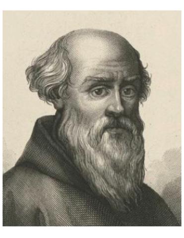 Guido D'Arezzo,creador del tetragrama i mojo benedicti