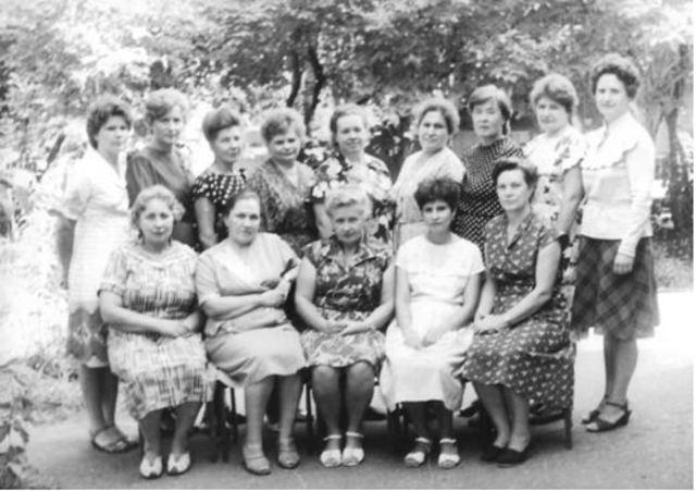 Коллектив 1985 года