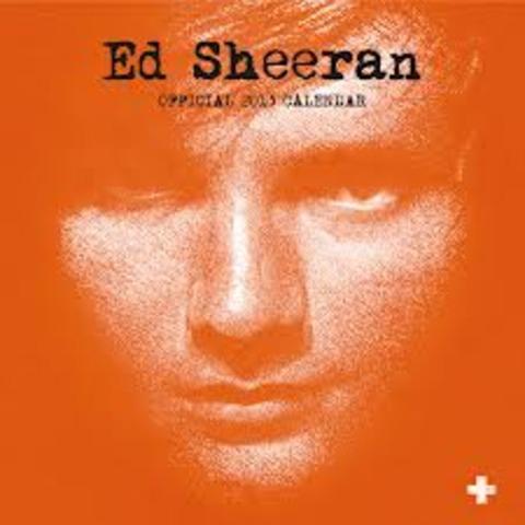Ed's most famous album,+, comes out