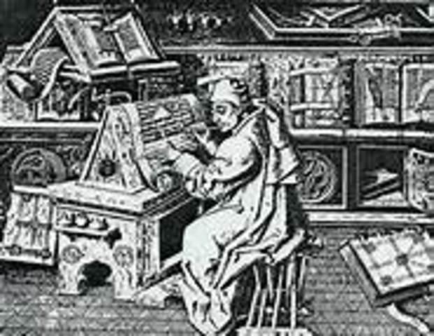 Invenció de l'imprempta