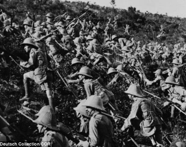 La Bataille de Gallipoli