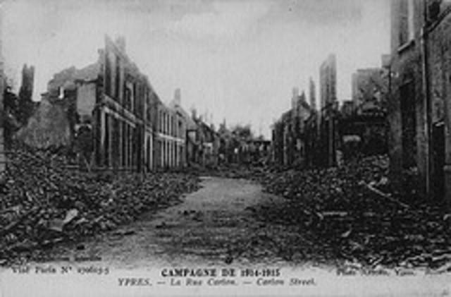 La  Bataille d'Ypres