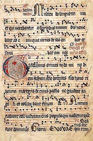 Aparició cant gregorià