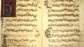 Evolució de l'escriptura musical i del llibre timeline