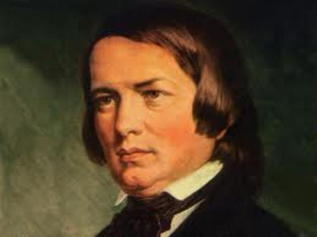 Neix Robert Schumann