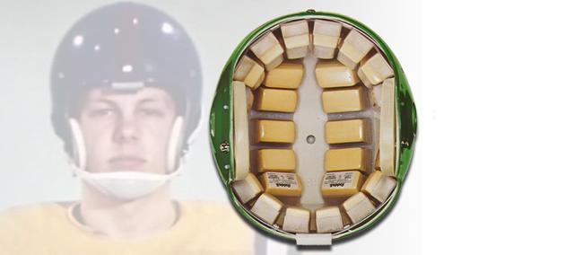 The first Shell helmet