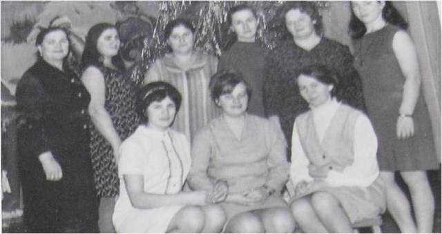 Коллектив детского сада. 1970г.