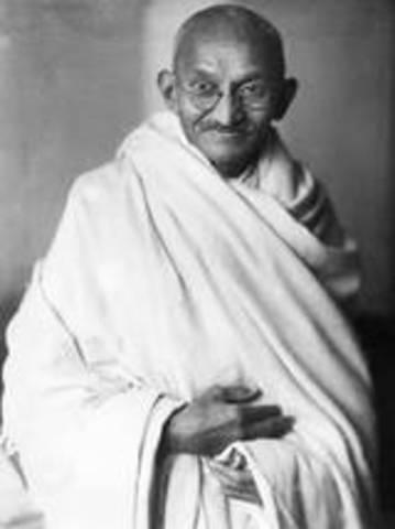 Mohandas Gandhi born
