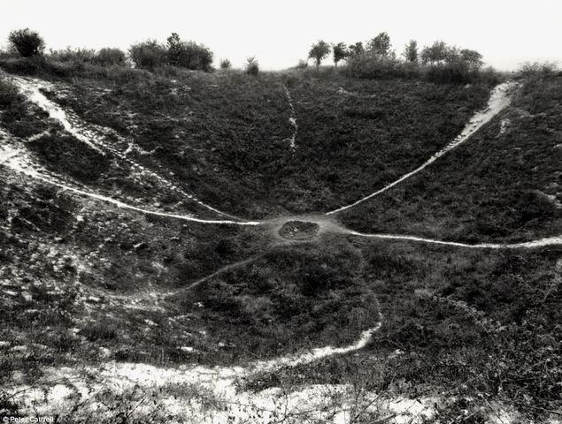La Bataille de Messines Ridge en Belgique