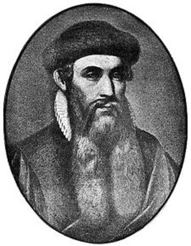 Johannes Gensfleisch zur Laden zum Gutenberg