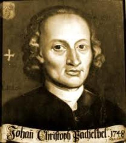 Johann Cristoph Pachelbel