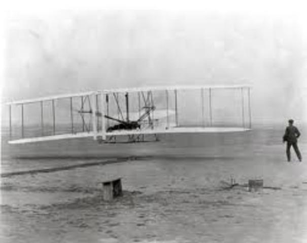 Wright Brothers Take Flight