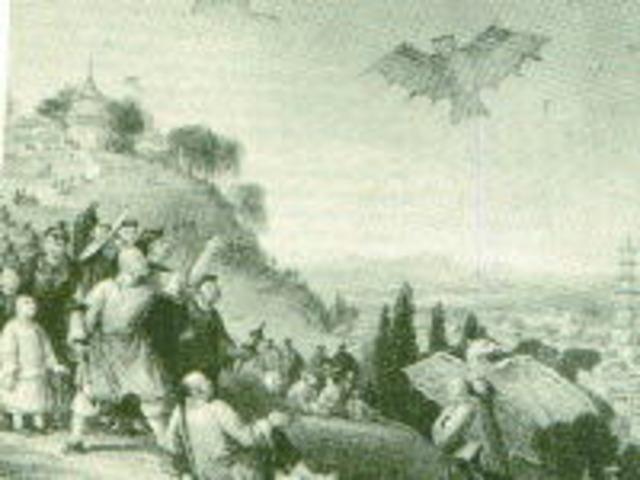 First Kite Flight - 200 BC