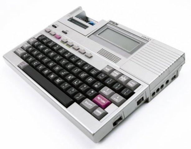 появление Epson HX-20