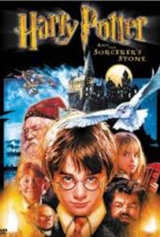 Harry Potter and the Sorcerer's Stone movie release.