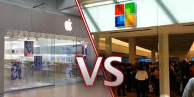 Apple and Microsoft Begin Friendly War