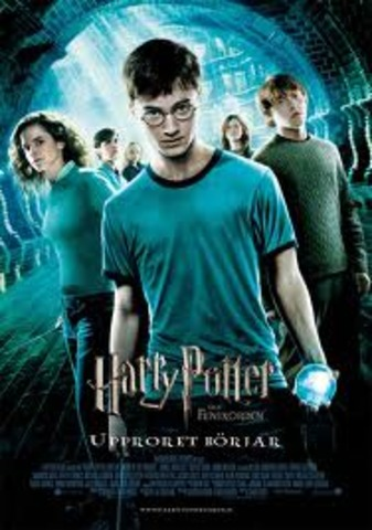 Harry Potter and the Order of the Phoenix movie release.