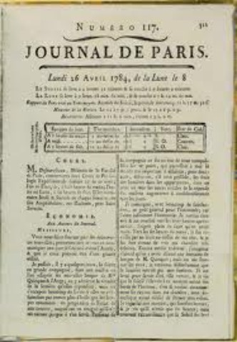LE JOURNAL DE PARIS