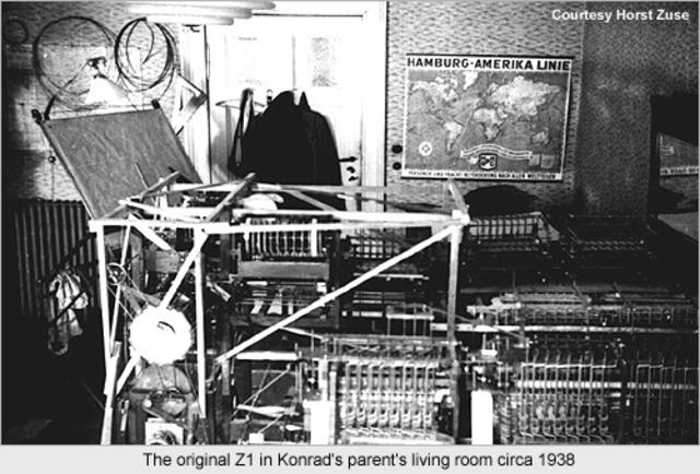 Konrad Suze creates the ZI Computer