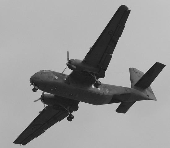 Flight of Caribou transports