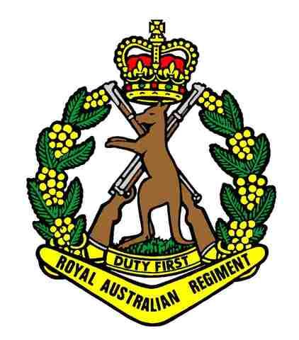 1st Battalion, Royal Australian Regiment dispatched