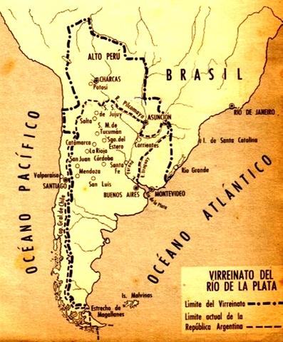 Fundación del rio de la Plata