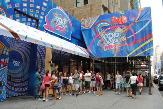 Pop Tart Store opened in NYC