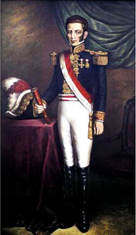 La Mar fue elevado a la Presidencia de la Suprema Junta Gubernativa del Perú