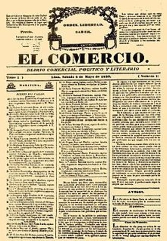 """Se publicó el diario """"El Comercio"""""""