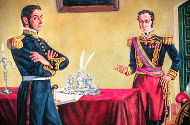 """Firma del """"Tratado de Guayaquil"""""""