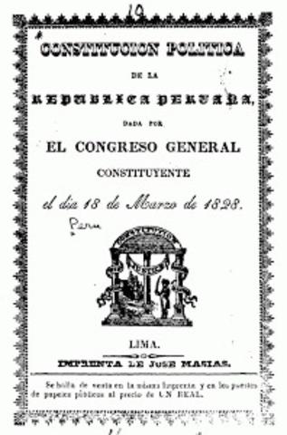 Promulgación de la Constitución Liberal