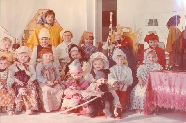 На высоком профессиональном уровне проводились праздничные утренники Варыгиной С.Г.