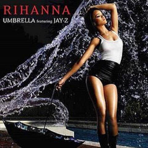 Releases her single Umbrella.