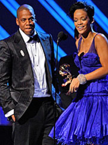 Rihanna's first grammy