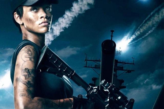 Stars in the movie Battleships