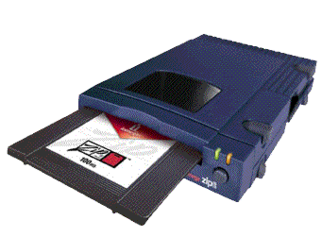 Iomega Corp introduced the floppy disc