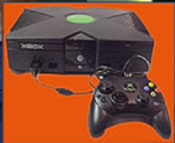 Microsoft recognizing the potential of the the game world enters the arena with Xbox; running on it is Halo2.