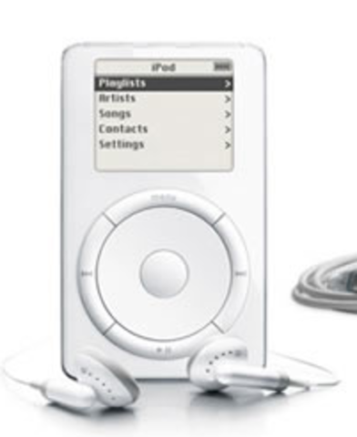 Apple release the first iPod