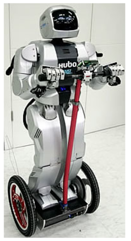 The Korean Institute of Science and Technology (KIST), creates HUBO, and claims it is the smartest robot in the world.