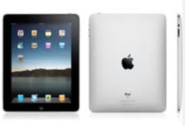 Apple release the iPad