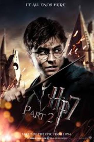 Harry Potter and the Deathly Hallows part two movie release date.