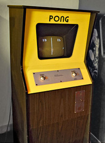 Pong was relesed