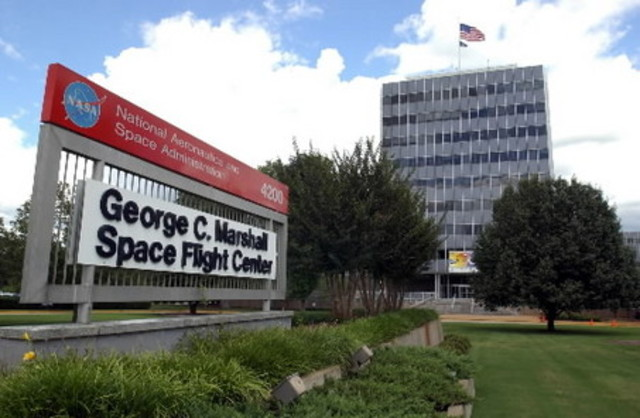 Hired to Work at Marshall Space Flight Center
