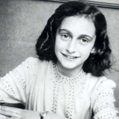 why is anne frank a hero