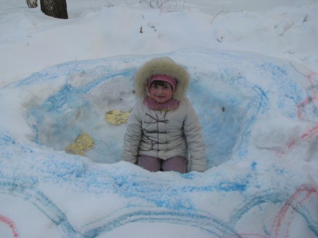 Снежные чудеса