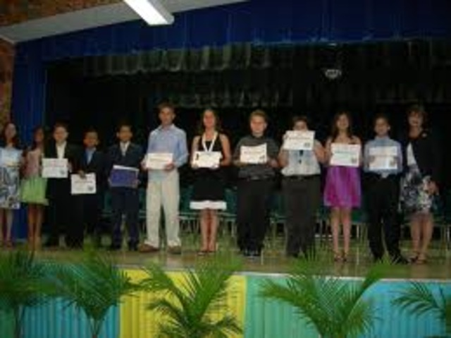 Graduating 5th grade